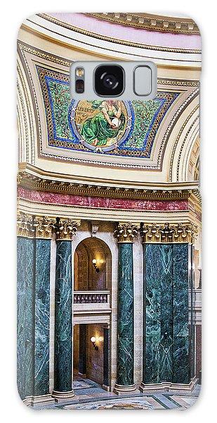 Capitol Rotunda -madison - Wisconsin Galaxy Case