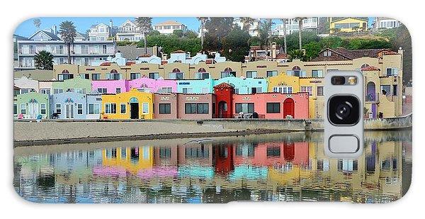 Capitola California Colorful Hotel Galaxy Case