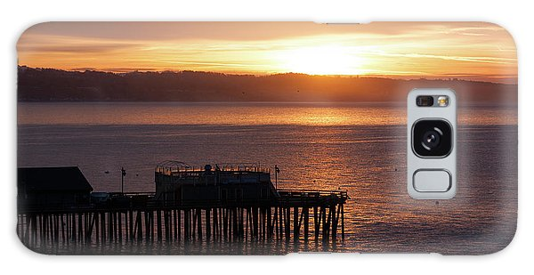 Galaxy Case featuring the photograph Capitola Day Begins by Lora Lee Chapman