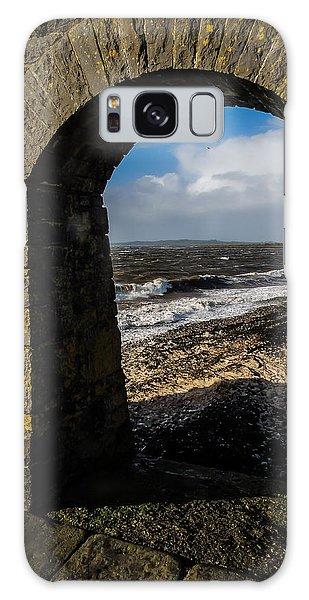 Cappagh Pier And Ireland's Shannon Estuary Galaxy Case