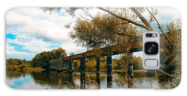 Cappaquin Railway Bridge Galaxy Case