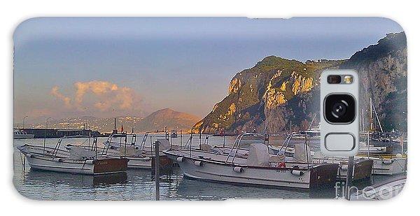 Capri- Harbor Boats Galaxy Case