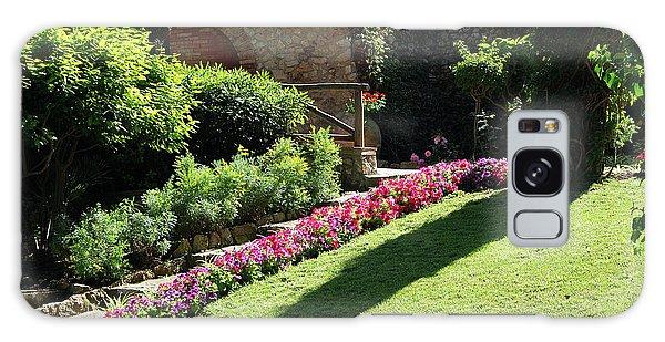 Capri's Gardens Of Augustus Galaxy Case