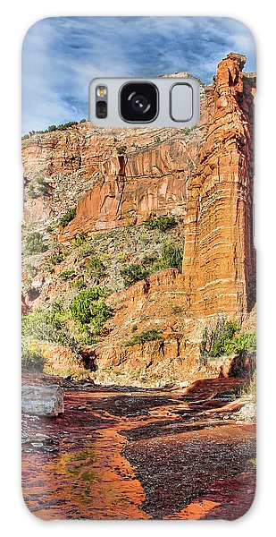Caprock Canyon Cliff Galaxy Case