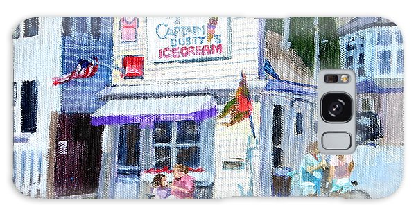Capt. Dusty's Ice Cream Galaxy Case