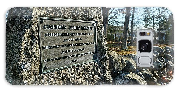 Captain John Locke Monument  Galaxy Case