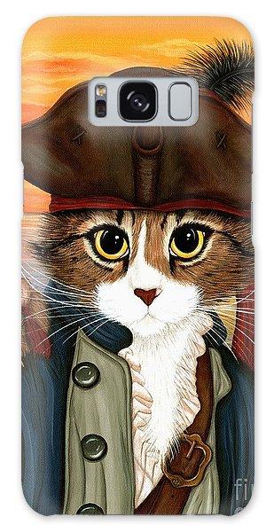 Captain Leo - Pirate Cat And Rat Galaxy Case