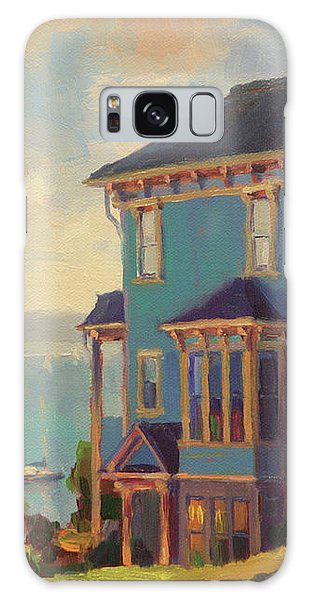 Galaxy Case featuring the painting Captain's House by Steve Henderson