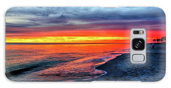 Captiva Island Sunset Galaxy Case