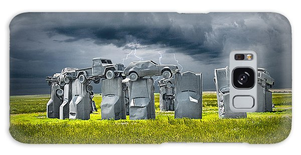 Car Henge In Alliance Nebraska After England's Stonehenge Galaxy Case