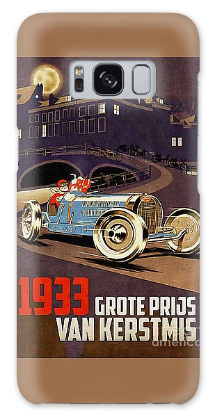 Car Racing Christmas Poster Of The 30s Galaxy Case