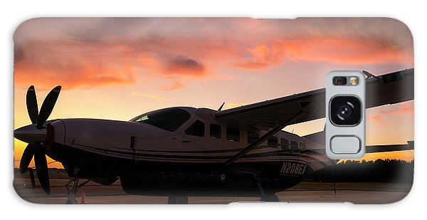 Caravan On The Ramp In The Sunset Galaxy Case