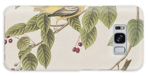Carbonated Warbler Galaxy Case by John James Audubon