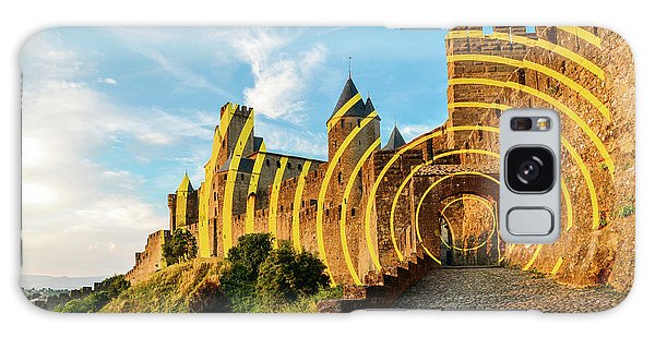 Carcassonne's Citadel, France Galaxy Case