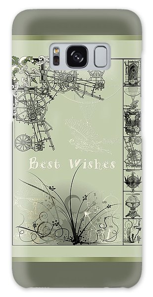 Card Best Wishes Galaxy Case