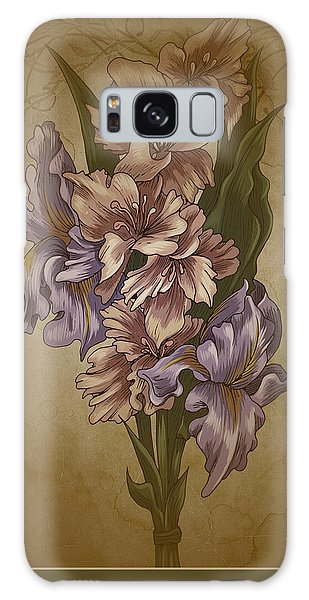 Card Floral Anyttime Galaxy Case by Robert G Kernodle