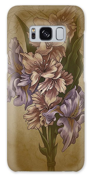 Card Floral Anyttime Galaxy Case