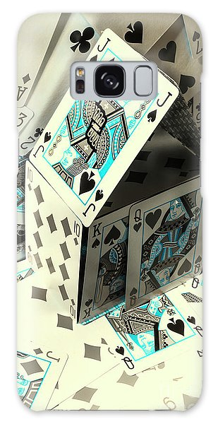 Gamble Galaxy Case - Card Fun House by Jorgo Photography - Wall Art Gallery