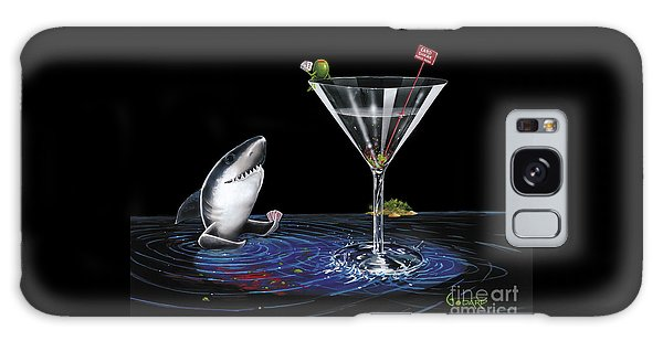 Sharks Galaxy Case - Card Shark by Michael Godard