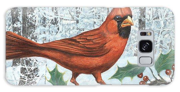 Song Bird Galaxy Case - Cardinal Bird by Don Langeneckert