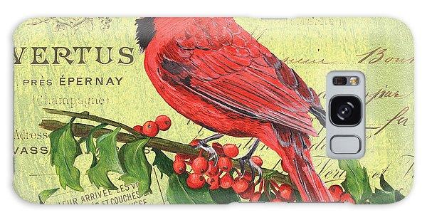 Cardinal Galaxy Case - Cardinal Peace by Debbie DeWitt