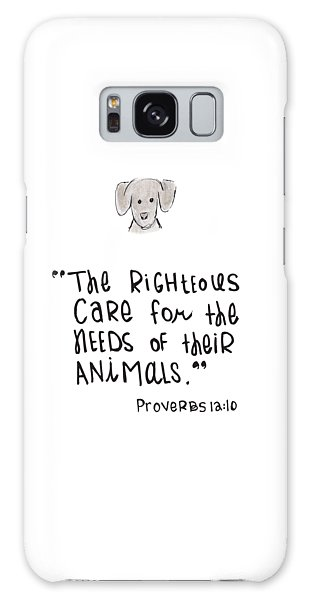 Care For Animals Galaxy Case