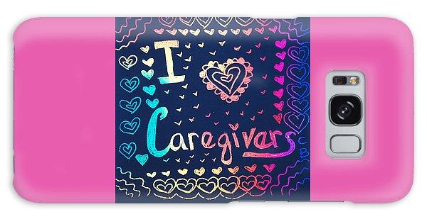 Caregiver Rainbow Galaxy Case
