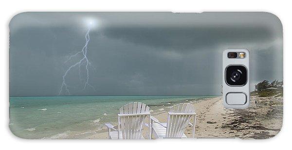 Adirondack Chair Galaxy Case - Caribbean Adirondacks by Betsy Knapp