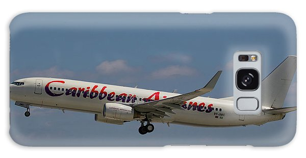 Galaxy Case featuring the photograph Caribbean Airlines by Dart and Suze Humeston
