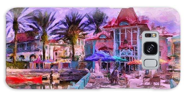Caribbean Beach Resort Galaxy Case