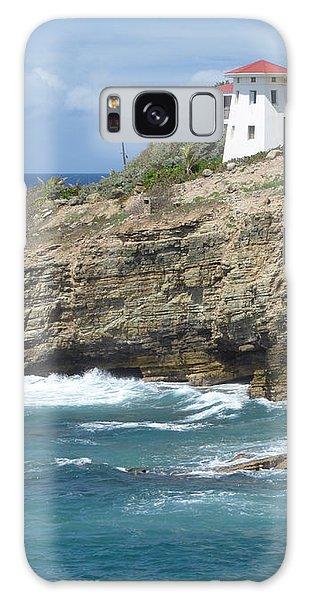 Caribbean Coastal Villa Galaxy Case by Margaret Brooks