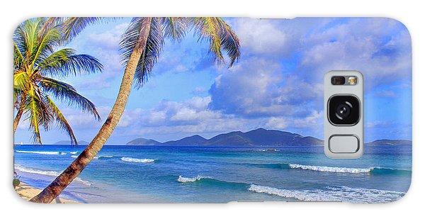 Caribbean Paradise Galaxy Case