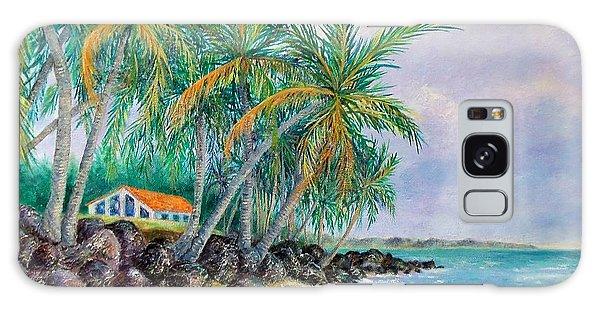 Caribbean Retreat Galaxy Case by Susan DeLain