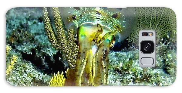 Caribbean Squid At Night - Alien Of The Deep Galaxy Case by Amy McDaniel