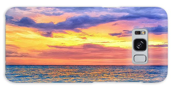Caribbean Sunset Galaxy Case