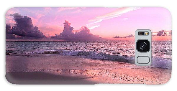 Ocean Sunset Galaxy S8 Case - Caribbean Tranquility  by Betsy Knapp