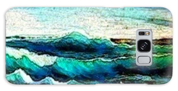 Caribbean Waves Galaxy Case