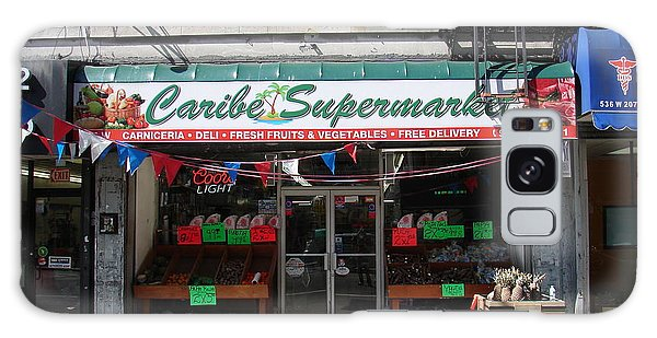 Caribe Supermarket Galaxy Case by Cole Thompson