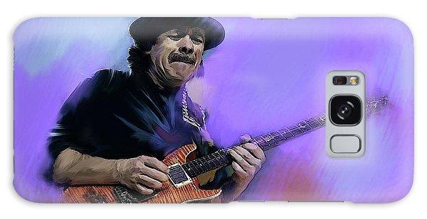 Carlos Santana Pura Vida Galaxy Case