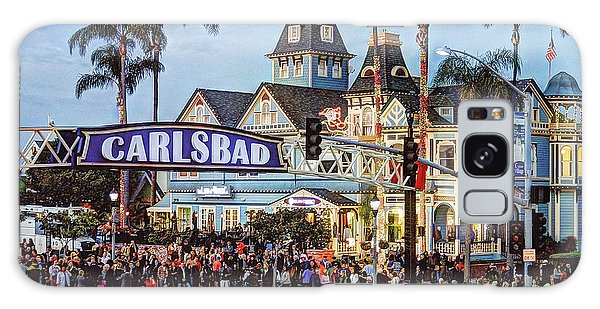 Carlsbad Village Sign Galaxy Case