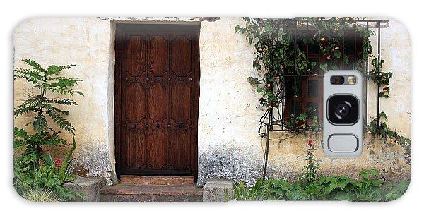 Carmel Mission Door Galaxy Case
