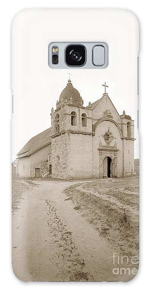 Carmel Mission South Side Circa 1915 Galaxy Case