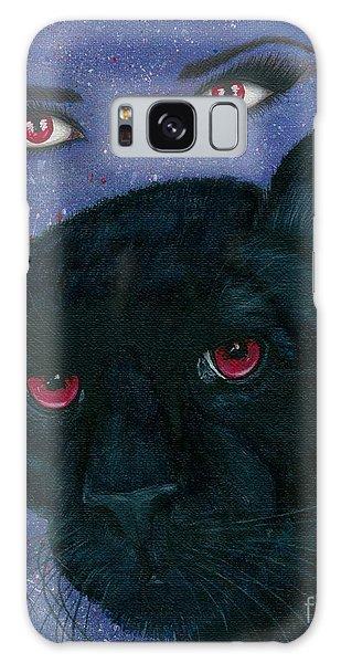Carmilla - Black Panther Vampire Galaxy Case