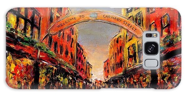Carnaby Street London Galaxy Case