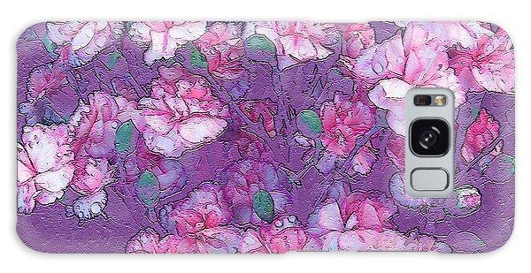 Carnation Inspired Art Galaxy Case by Barbara Tristan