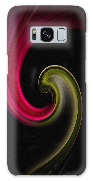 Carnation Twirl Galaxy Case