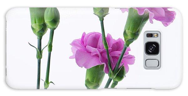 Carnations Three Lavender Galaxy Case