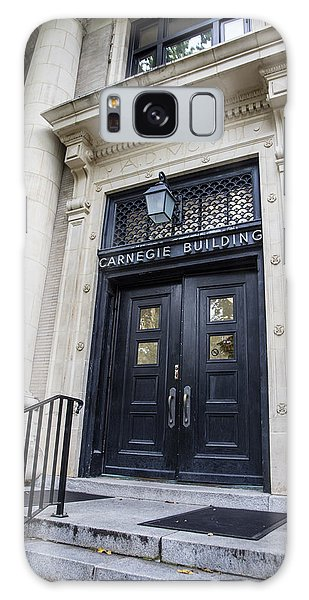Penn State University Galaxy Case - Carnegie Building Penn State  by John McGraw