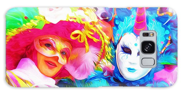 Carnevale Two Galaxy Case by Jack Torcello