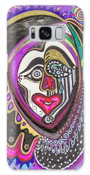 Carnival Face Galaxy Case